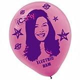 iCarly Printed Latex Balloons 6 Pack