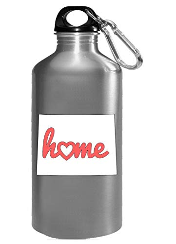 Wyoming Is My Home USA State Pride - Water Bottle
