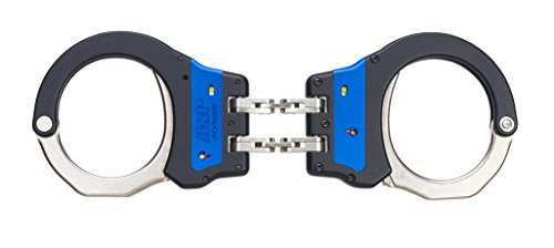 (Asp Law Enforcement Identifier Hinge Ultra Cuffs Blue ASP Identifier Hinge Ultra Cuffs Blue, 56011 Model )