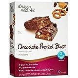 Weight Watchers Mini Snack Bars Chocolate Pretzel Blast Mini Bar Brand New (12 Bars) 2 Points Points Plus