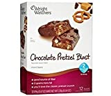Weight Watchers Mini Snack Bars Chocolate Pretzel Blast Mini Bar Brand New (12 Bars) 2 Points Points Plus