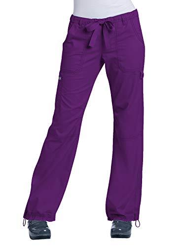 - KOI Classics 701 Women's Lindsey Scrub Pant Eggplant XS