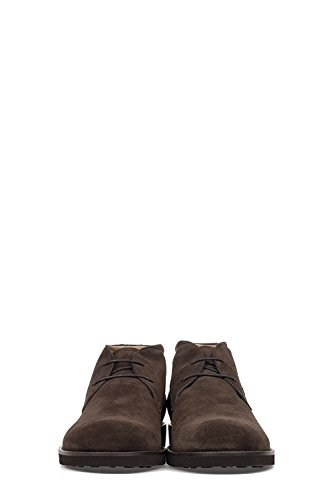 TOD'S HOMME XXM0WP00D80RE0S800 MARRON CUIR BOTTINES