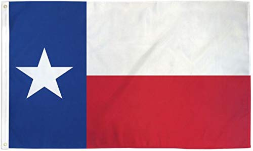 The Flag Joint - Texas Lone Star State 3x5ft Fly Free Flag - Poly