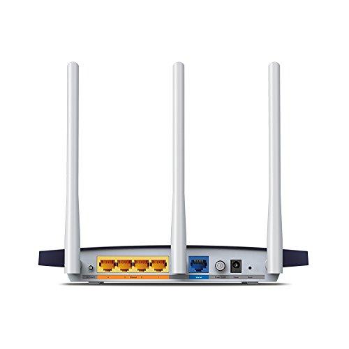 TP-Link TL-WR1043N - Router Inalámbrico Gigabit N a 450Mbps (3 Antenas externas de 5dBi, MIMO, con Cinco Puertos Ethernet Gigabit...