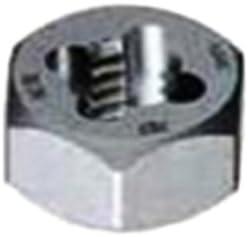 Gyros 92-92416 Carbon Steel Hex Rethreading Die 3//8-16 TPI