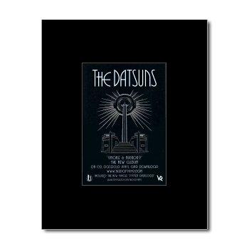 DATSUNS - Smoke and Mirrors Matted Mini Poster - 13.5x10cm