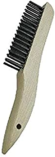 "product image for GORDON BRUSH 444CS006G Plater's and Molder's Brush with Steel Bristles, Shoe Handle, 4 x 16 Rows, 10"" Overall Length"