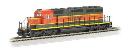 Emd Sd40 2 (Bachmann Industries Emd SD40-2 DCC Equipped HO Scale #1692 BNSF Locomotive)