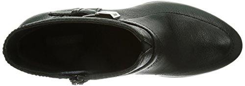 Geox D Aliha, Botines para Mujer Negro (Black c9999)
