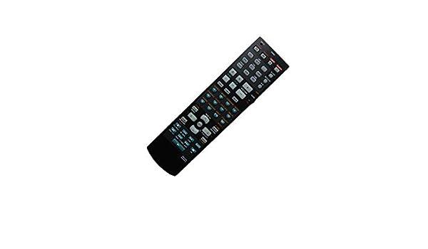 Hotsmtbang Replacement Remote Control for Yamaha RAV322 WG646300 HTR-5950 HTR-5950BL HTR-5750 HTR-5750S 6.1-Channel Digital Home Theater AV A//V Receiver