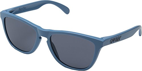 Oakley Men's Frogskins Polarized Blue/Grey Sunglasses