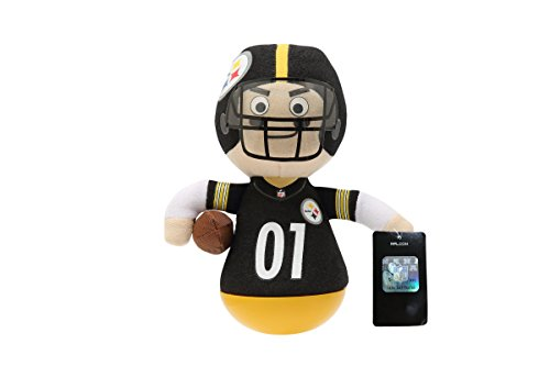 NFL Rock'emz Collectible Sports Figurine - 7 in. Tall (Pittsburgh - Steelers Rock