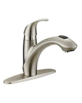 Danze Bravo Brushed Nickel Pull Out Kitchen Faucet Amazon Ca Tools