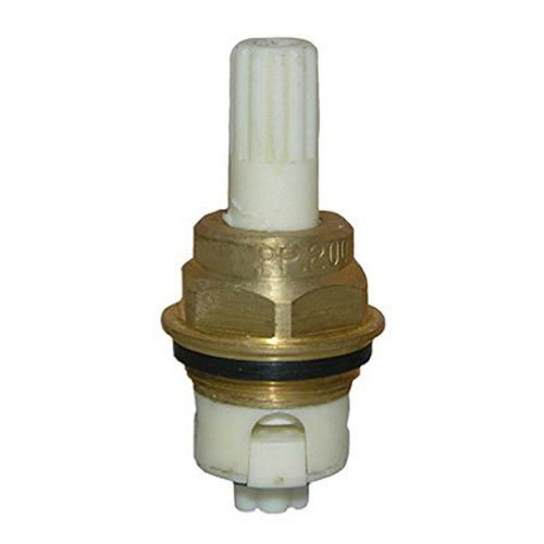 Lasco S-244-2 Price Pfister,2078,B Broach,Cold,Plastic Ceramic 2-Inch Long Stem, Old Style With Brass Bushing, Snap Pack by LASCO
