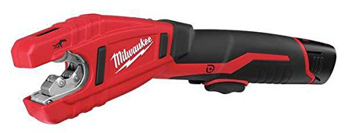 M12 Cordless 12V Lithium-Ion Copper Tube Cutter with one Battery, Charger and Case, 4.7