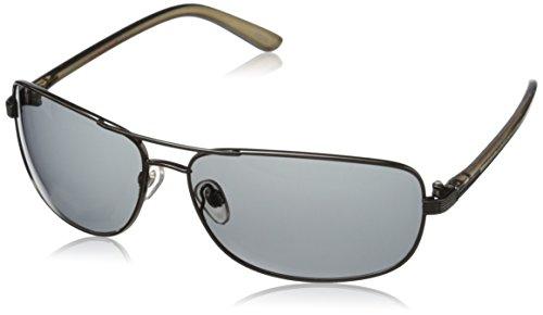 Dockers Men's Accent 10225751.JCP Polarized Square Sunglasses, Gun, 60 - Docker Sunglasses