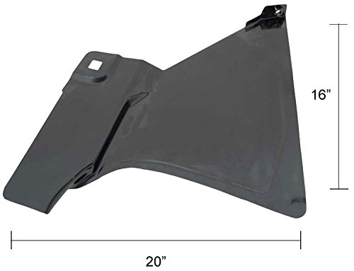 Footwell (Kick Panel) - LH - 73-87 Chevy GMC Truck; 73-91 Blazer Jimmy Suburban