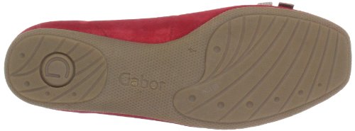Comfort Rosso Shoes Rot Ballerine 6265348 Rot donna Gabor qXZxT5UwT