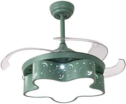 Ventilador eléctrico Lámina del Ventilador Invisible Sala de Princesa Araña de Ventiladores Vientos múltiples Adecuada for la Sala de Estar del Dormitorio jardín: Amazon.es: Hogar