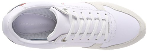 Basses Hilfiger Blanc Star Femme Sneakers White Tommy Runner Retro 100 Tommy Ywdq8Y