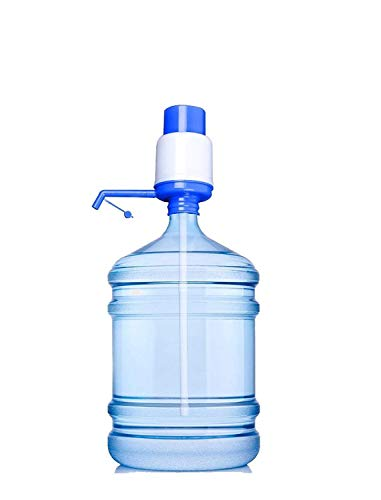 Cool Gadget Plastic Manual Pump for Bottled Water Drinking (Multicolour)