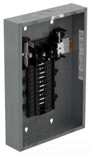 Square D Qo320L125G Ld-Cntr Box & Int
