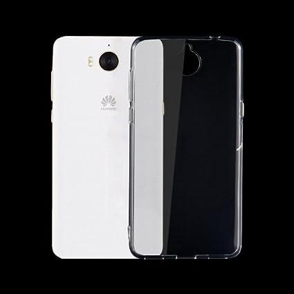 Crazy4Gadget Huawei Y5 0 75mm TPU Transparent: Amazon in: Electronics