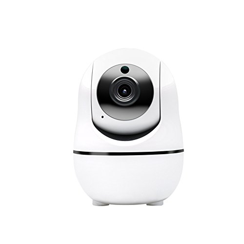 InCliick-Q5 WiFi Wireless Security Camera Pan Tilt Zoom Surveillance IP Camera, 18 HD, Motion Detection, Siren Alarm, 2 Way Audio, Night Vision, and APP for Android Phone, Pad, iPhone, ipad, Win PC