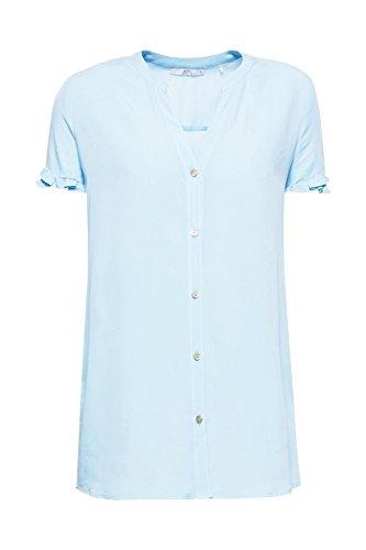 Edc Donna Esprit Camicia light Blue Blu 440 By TqrvxPtwT