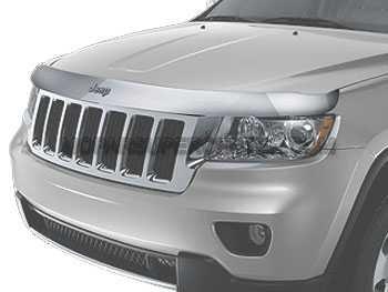 Mopar 82212046 Jeep Grand Cherokee Chrome Front Air Deflector