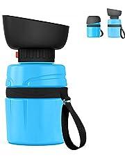 Draagbare hond waterfles,lichtgewicht grote capaciteit huisdier waterflessen, lekvrije huisdier drinkfles voor hond kat outdoor reizen wandelen,BPA vrij(blauw)