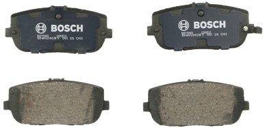 Bosch BP1180 QuietCast Premium Rear Disc Brake Pad ()