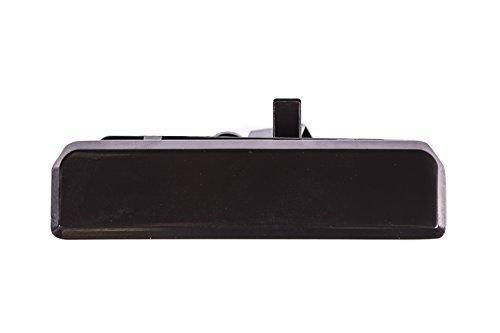 Rear Smooth Black Door Handle for 85-05 Chevrolet Astro, GMC Safari GM1820104 (1985, 1987, 1988, 1989, 1990, 1991, 1992, 1993, 1994, 1995, 1996, 1997, 1998, 1999, 2000, 2001, 2002, 2003, 2004, 2005)