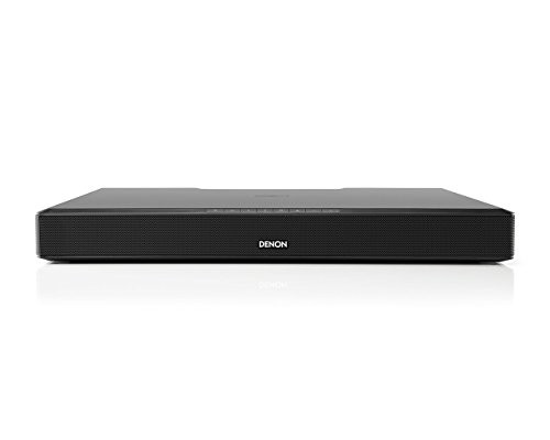 Denon DHT-T110 TV Speaker Base with Bluetooth aptX Streaming and Dolby Digital Decoding