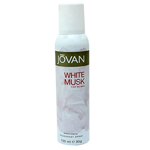 Jovan Deodorant Spray for Women, White Musk, 5 Ounce (White Musk Body Spray compare prices)