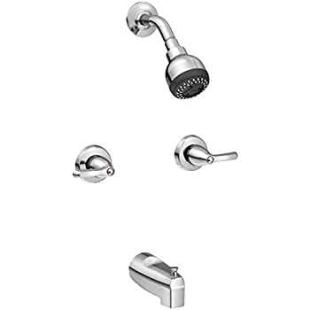 Moen 82555 Adler Two Handle Standard Tub Shower Faucet