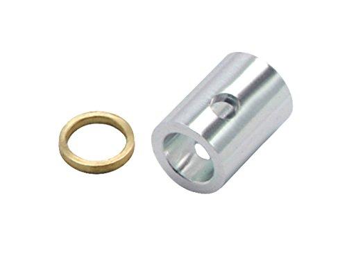 (Microheli Aluminum/Brass Main Gear Tail Drive Hub (for MH Gear system series))