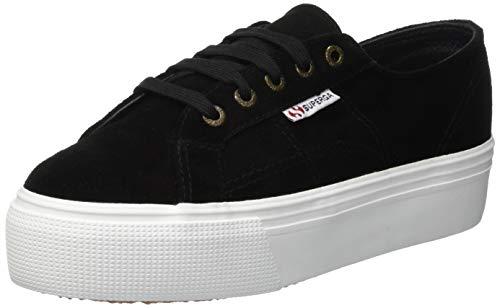 Nero black 2790 Sneaker 999 suew Superga Donna xPqf6awA