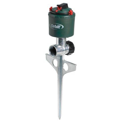 - 5 Pack - Orbit Compact Gear Driven Lawn Sprinkler on Sturdy Spike Base