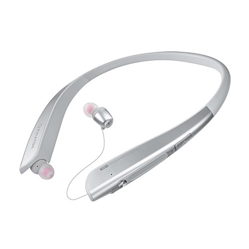 - Phiaton BT 150 NC Silver Wireless Active Noise Cancelling & Touch Control Neckband Style Earphones Mic
