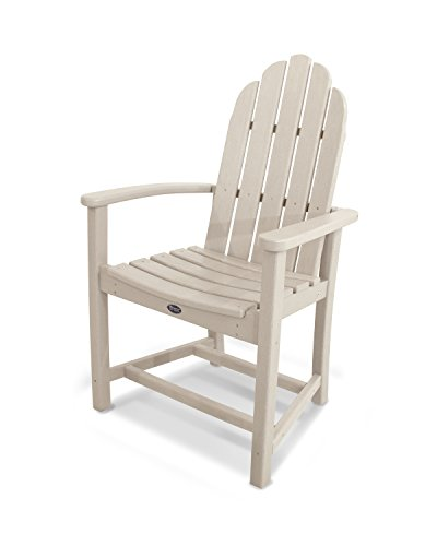 Cape Cod Dining - Trex Outdoor Furniture Cape Cod Adirondack Dining Chair in Sand Castle