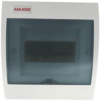 Caja distribucion electrica Superficie IP30 de 6 modulos Blanco ...