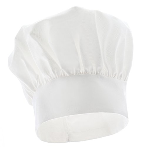 Kitchen Supply Child's Adjustable White Twill Chef's Hat]()