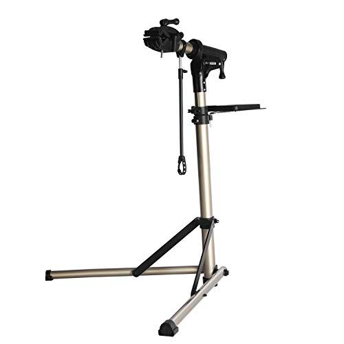Bike Repair Stand -Shop Home Bicycle Mechanic Maintenance Rack- Whole Aluminum Alloy- Height Adjustable