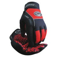 Silicon Grip Gloves, X-Large, Red/Black (24 Pair)