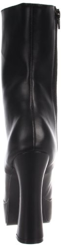Leather Blk Stivali Nero Electra Donna Pleaser Faux 1020 0qwTUxCZ