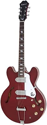 Epiphone Casino - Guitarra eléctrica, color cherry