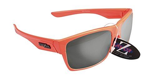 RayZor Professional léger Orange UV400Lunettes de soleil de Cyclisme pour Sport, avec un objectif Miroir fumé anti-reflets
