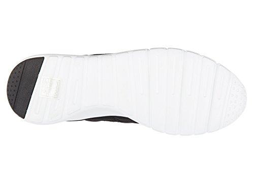 405d49a90 ... Emporio Armani EA7 Zapatos Zapatillas de Deporte Hombres Nuevo Racer  Light Negro